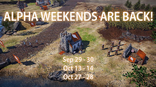 Alpha Weekends Are Back!
